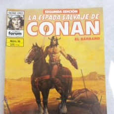 Cómics: LA ESPADA SALVAJE DE CONAN Nº 16 - 2 EDICION FORUM. Lote 42923831