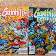 Cómics: GAMBITO Y LOS EXTERNOS COMICS, NÚMEROS 2 Y 3, MARVEL, FORUM, PLANETA DEAGOSTINI, KEVIN CONRAD, 1996. Lote 42982308