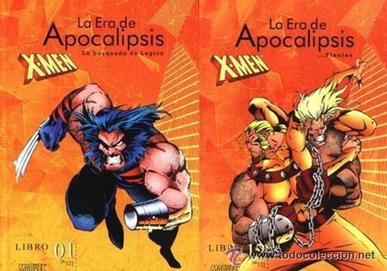 LA ERA DE APOCALIPSIS - COMPLETA - 12 TOMOS - FORUM - X MEN (Tebeos y Comics - Forum - X-Men)