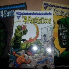 Cómics: BIBLIOTECA MARVEL LOS 4 FANTASTICOS TOMOS 01 02 Y 03. Lote 43061442