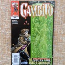 Cómics: GAMBITO COMIC, NÚMERO 13, MARVEL COMICS, FORUM, PLANETA DEAGOSTINI, FABIAN NICIEZA, AÑO 2000. Lote 43062543
