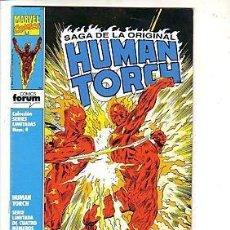 Fumetti: HUMAN TORCH SERIE COMPLETA 4 NUMEROS EDITORIAL FORUM. Lote 43080970