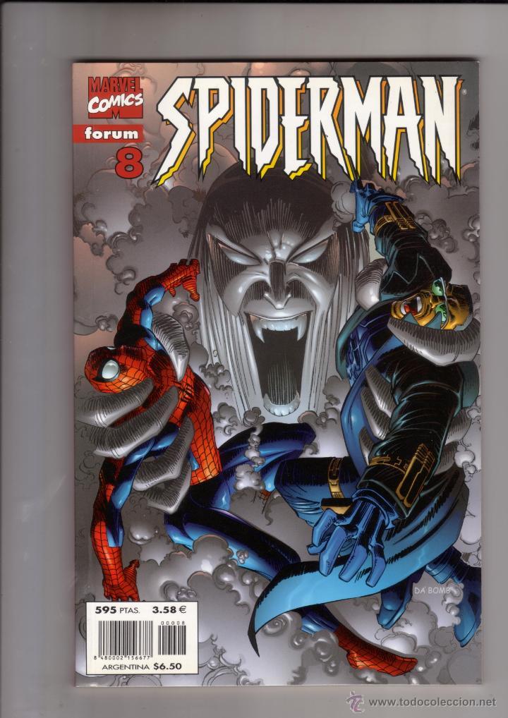 FORUM - SPIDERMAN VOL.3 NUM. 8 ( LOMO ROJO ). BYRNE+ ROMITA JR. NUEVO (Tebeos y Comics - Forum - Spiderman)