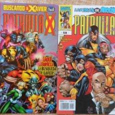 Cómics: PATRULLA X COMICS, NÚMEROS 42 Y 58, VOLÚMEN II, MARVEL, FORUM, PLANETA DEAGOSTINI, ALAN DAVIS. Lote 43151355