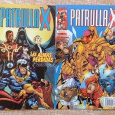 Cómics: PATRULLA X COMICS, NÚMEROS 62 Y 64, VOLÚMEN II, MARVEL, FORUM, PLANETA DEAGOSTINI, CHRIS CLAREMONT. Lote 43151477