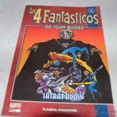 Cómics: LOS 4 FANTASTICOS Nº 8 ATRAPADOS DE JOHN BYRNE. Lote 43177430