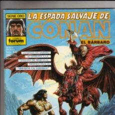 Cómics: FORUM- ESPADA SALVAJE DE CONAN VOL.1 NUM. 142 .MBE. Lote 43193634