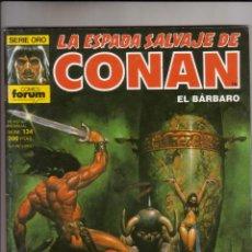 Cómics: FORUM - ESPADA SALVAJE DE CONAN VOL.1 NUM. 134 . MBE. Lote 43193642
