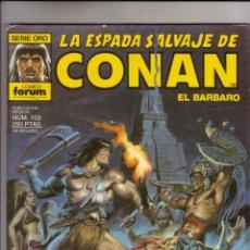 Cómics: FORUM - ESPADA SALVAJE DE CONAN VOL.1 NUM. 103 . MBE. Lote 43193818