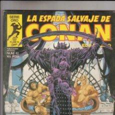 Cómics: FORUM - ESPADA SALVAJE DE CONAN VOL.1 NUM. 41 . MBE. Lote 43194444