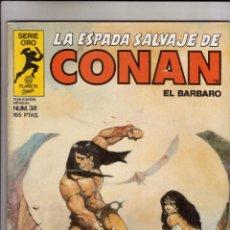 Cómics: FORUM - ESPADA SALVAJE DE CONAN VOL.1 NUM. 38 .. Lote 43194483