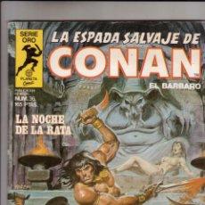 Cómics: FORUM - ESPADA SALVAJE DE CONAN VOL.1 NUM. 36 . MBE. Lote 43194508