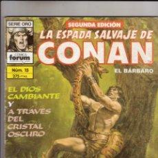 Cómics: FORUM - ESPADA SALVAJE DE CONAN NUM. 15 ( 2ª EDICION ). Lote 43195533