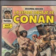 Cómics: FORUM - ESPADA SALVAJE DE CONAN NUM. 7 ( 2ª EDICION ). Lote 43195601