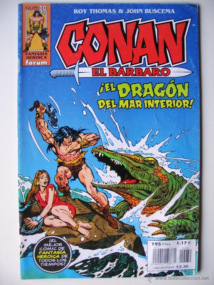 CONAN EL BÁRBARO - ¡EL DRAGÓN DEL MAR INTERIOR! - ROY THOMAS & JOHN BUSCEMA (Tebeos y Comics - Forum - Conan)