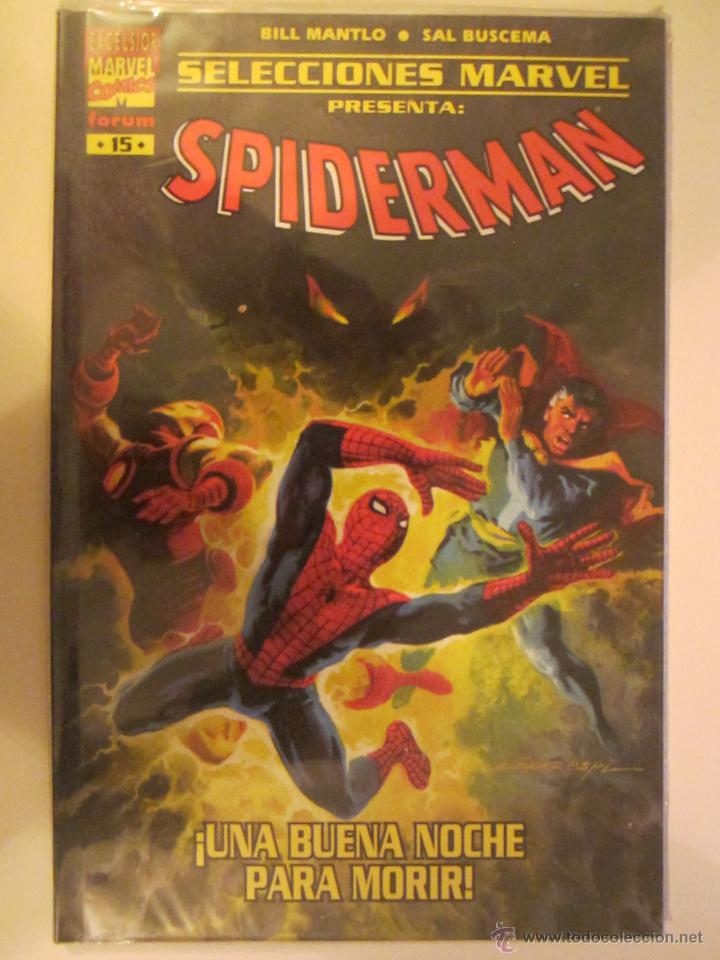 SELECCIONES MARVEL 15 SPIDERMAN UNA BUENA NOCHE PARA MORIR (Tebeos y Comics - Forum - Prestiges y Tomos)
