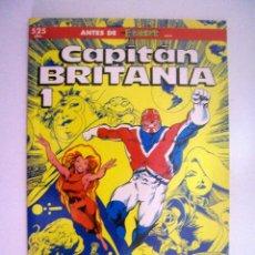Cómics: CAPITAN BRITANIA Nº 1 ALAN DAVIS Y JAMIE DELANO DE COMICS FORUM . Lote 43252642