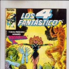 Cómics: FORUM- 4 FANTASTICOS VOL.1 NUM. 58 ( PROCEDE DE RETAPADO ). Lote 43260399