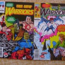 Cómics: THE NEW WARRIORS COMICS, NÚMEROS 20 Y 21, STAN LEE, FORUM, MARVEL, PLANETA DEAGOSTINI, AÑO 1993. Lote 43297578