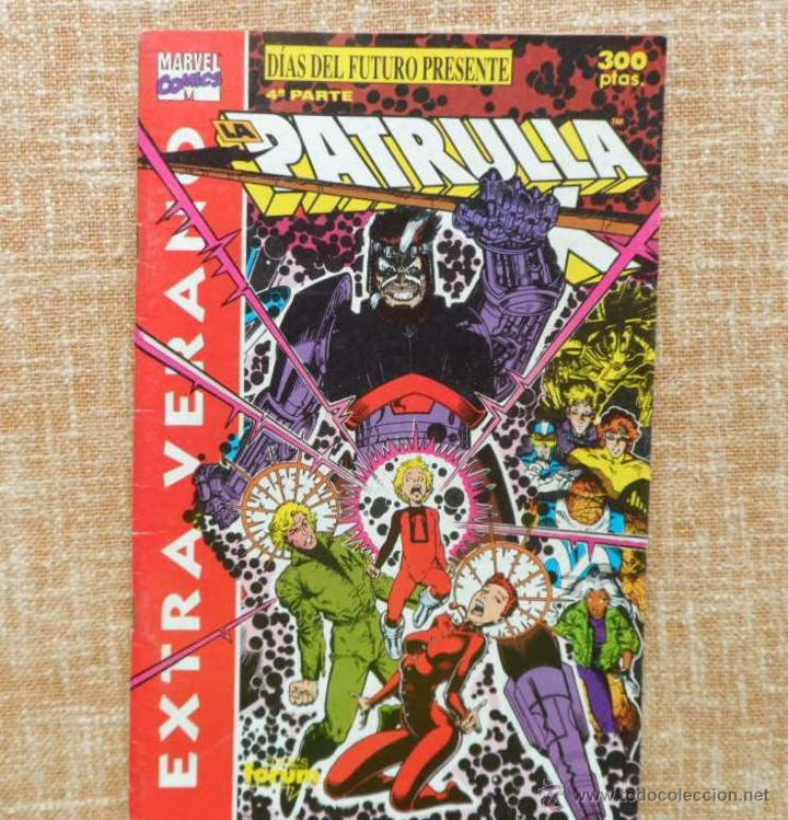 LA PATRULLA X COMIC, EXTRA VERANO, AÑO 1991, FORUM, MARVEL, PLANETA DEAGOSTINI, CHRIS CLAREMONT (Tebeos y Comics - Forum - Patrulla X)