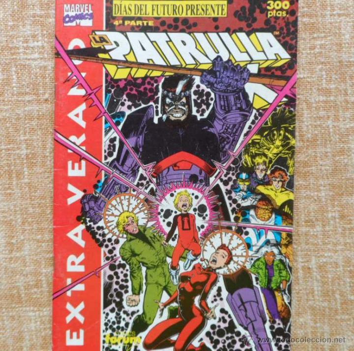 Cómics: La Patrulla X Comic, Extra Verano, año 1991, Forum, Marvel, Planeta DeAgostini, Chris Claremont - Foto 4 - 43351001