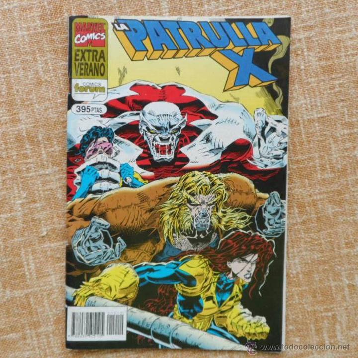 LA PATRULLA X COMIC, EXTRA VERANO, AÑO 1995, FORUM, MARVEL, PLANETA DEAGOSTINI, GLENN HERDLING (Tebeos y Comics - Forum - Patrulla X)