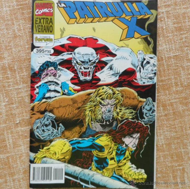 Cómics: La Patrulla X Comic, Extra Verano, año 1995, Forum, Marvel, Planeta DeAgostini, Glenn Herdling - Foto 4 - 43351106