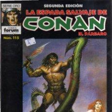 Cómics: LA ESPADA SALVAJE DE CONAN Nº 115 FORUM - CJ119. Lote 43356122