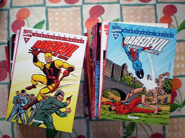 DAREDEVIL EXCELSIOR BIBLIOTECA MARVEL (FORUM) COMPLETA 22 TOMOS (Tebeos y Comics - Forum - Daredevil)