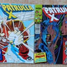 Cómics: LA PATRULLA X COMICS, NÚMERO 67 Y 70, FORUM, MARVEL, PLANETA DEAGOSTINI, CHRIS CLAREMONT, AÑO 1988. Lote 43448283