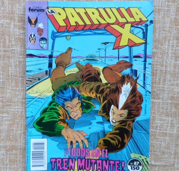 Cómics: La Patrulla X Comics, números 87 (1989) y 89 (1990), Forum, Marvel, Planeta DeAgostini, C. Claremont - Foto 2 - 43454717