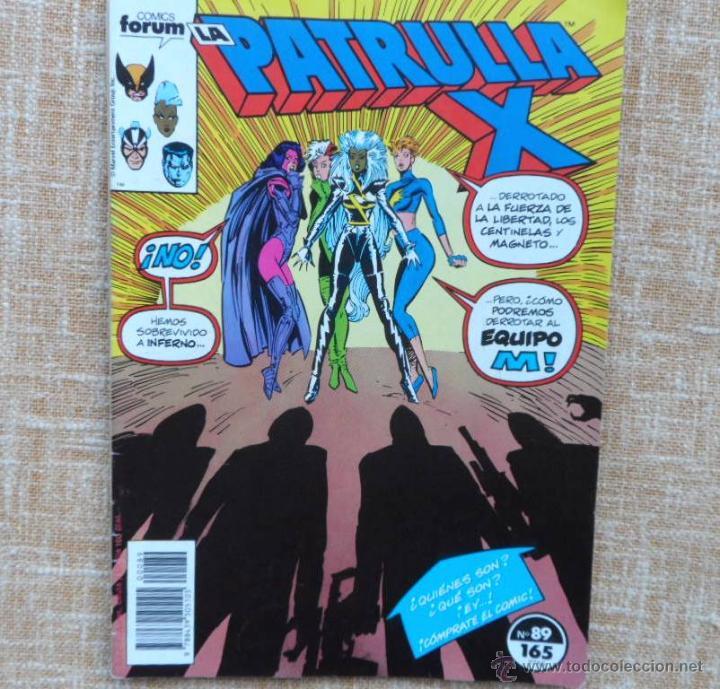 Cómics: La Patrulla X Comics, números 87 (1989) y 89 (1990), Forum, Marvel, Planeta DeAgostini, C. Claremont - Foto 3 - 43454717