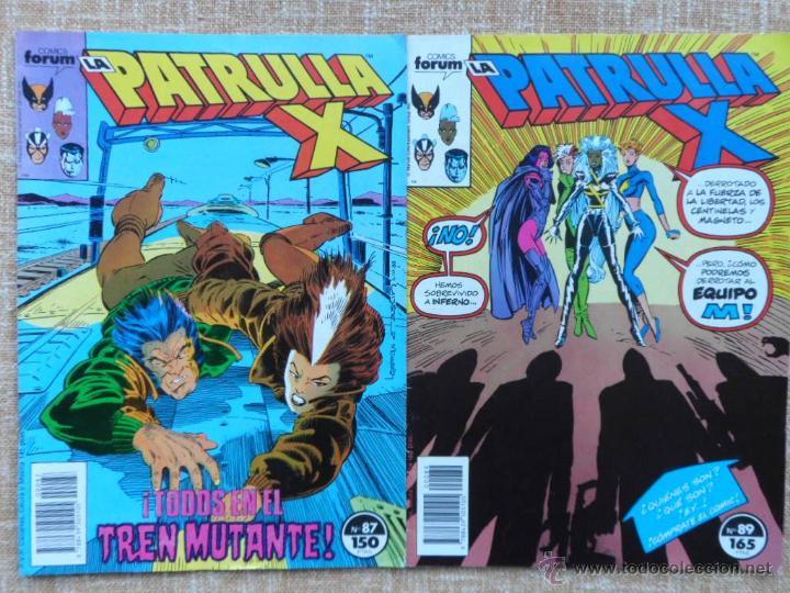 Cómics: La Patrulla X Comics, números 87 (1989) y 89 (1990), Forum, Marvel, Planeta DeAgostini, C. Claremont - Foto 4 - 43454717