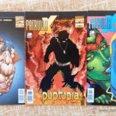 Cómics: PATRULLA X COMICS, NÚMEROS 73, 77 Y 78, VOLÚMEN II, MARVEL, FORUM, PLANETA DEAGOSTINI, AÑO 2002. Lote 43465318