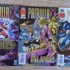 Cómics: PATRULLA X COMICS, NÚMEROS 21, 22 Y 24, VOLÚMEN II, MARVEL, FORUM, PLANETA DEAGOSTINI, AÑOS 1997/98. Lote 43465724