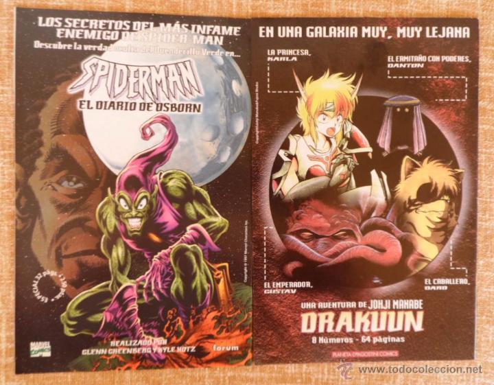 Cómics: Patrulla X Comics, números 21, 22 y 24, Volúmen II, Marvel, Forum, Planeta DeAgostini, años 1997/98 - Foto 5 - 43465724
