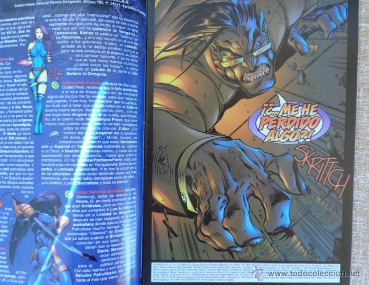 Cómics: Patrulla X Comics, números 21, 22 y 24, Volúmen II, Marvel, Forum, Planeta DeAgostini, años 1997/98 - Foto 6 - 43465724