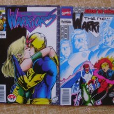 Cómics: THE NEW WARRIORS COMICS, NÚMEROS 37 Y 42, STAN LEE, FORUM, MARVEL, PLANETA DEAGOSTINI, AÑO 1994. Lote 43469177