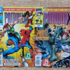 Cómics: PATRULLA X COMICS, NÚMEROS 26 Y 27, VOLÚMEN II, MARVEL, FORUM, PLANETA DEAGOSTINI, AÑO 1998. Lote 43469425