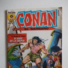 Cómics: CONAN EL BARBARO-Nº 1 FORUM-INCLUYE EL POSTER DE LA EDICION. Lote 43580880