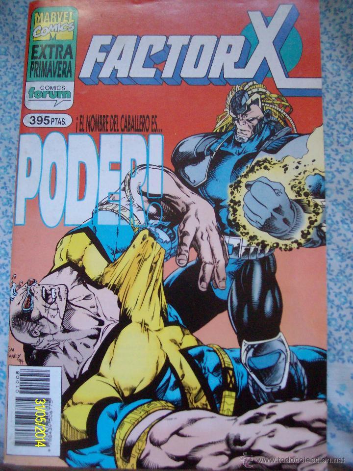 FACTOR X EXTRA PRIMAVERA FORUM (Tebeos y Comics - Forum - Factor X)