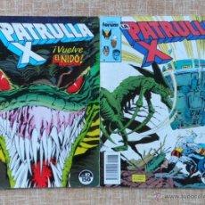 Cómics: LA PATRULLA X COMICS, NÚMERO 82 Y 83, PLANETA DEAGOSTINI, FORUM, MARVEL, CHRIS CLAREMONT, AÑO 1989. Lote 43591083