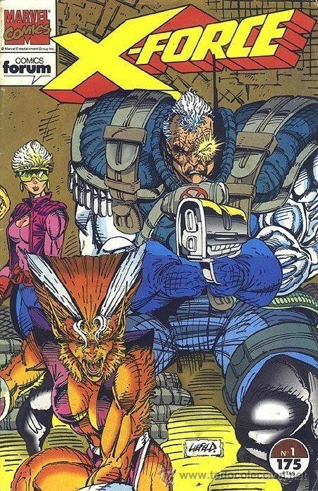 X-FORCE LOTE DE 39 Nº (Tebeos y Comics - Forum - X-Men)
