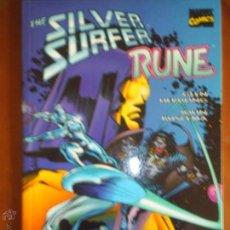 Cómics: THE SILVER SURFER - RUNE. Lote 43668255