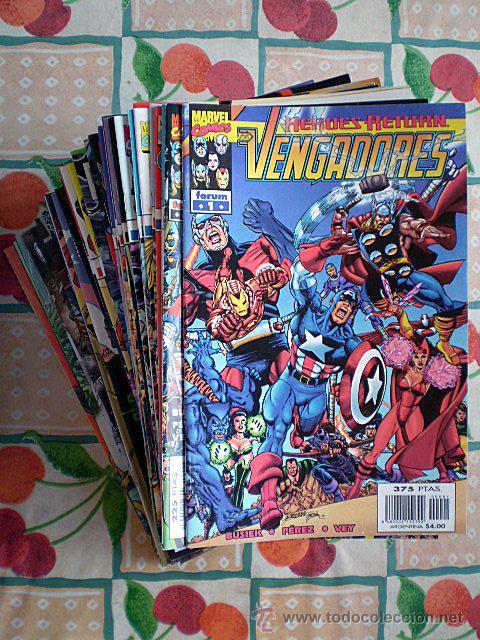 LOS VENGADORES VOL. VOLUMEN 3 HÉROES RETURN (COMPLETA, 86 CÓMICS) FORUM Y PANINI (NUEVOS) (Tebeos y Comics - Forum - Vengadores)
