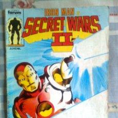 Fumetti: SECRET WARS-II- Nº 17 -IRON MAN+ESTELA PLATEADA DE JOHN BUSCEMA-DIFÍCIL-CORRECTO-LEAN-1968. Lote 43729228