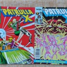 Cómics: LA PATRULLA X COMICS, NÚMEROS 74 Y 76, FORUM, MARVEL, PLANETA DEAGOSTINI, CHRIS CLAREMONT, AÑO 1988. Lote 43757331