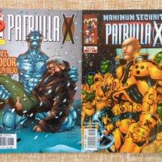 Cómics: LA PATRULLA X COMICS, NÚMERO 19 (1997) Y NÚMERO 66 (2001), VOLÚMEN II, PLANETA DEAGOSTINI, LOBDELL. Lote 43768337