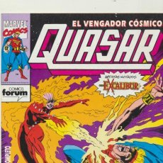 Cómics: QUASAR Nº 2. FORUM.. Lote 43827639