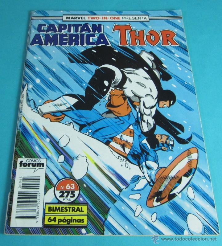 CAPITÁN AMÉRICA / THOR. Nº 63. TWO IN ONE (Tebeos y Comics - Forum - Capitán América)